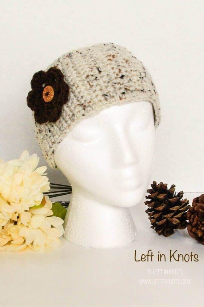 a simple crochet ear warmer headband