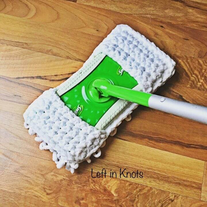 A swiffer with a reusable, washable cover