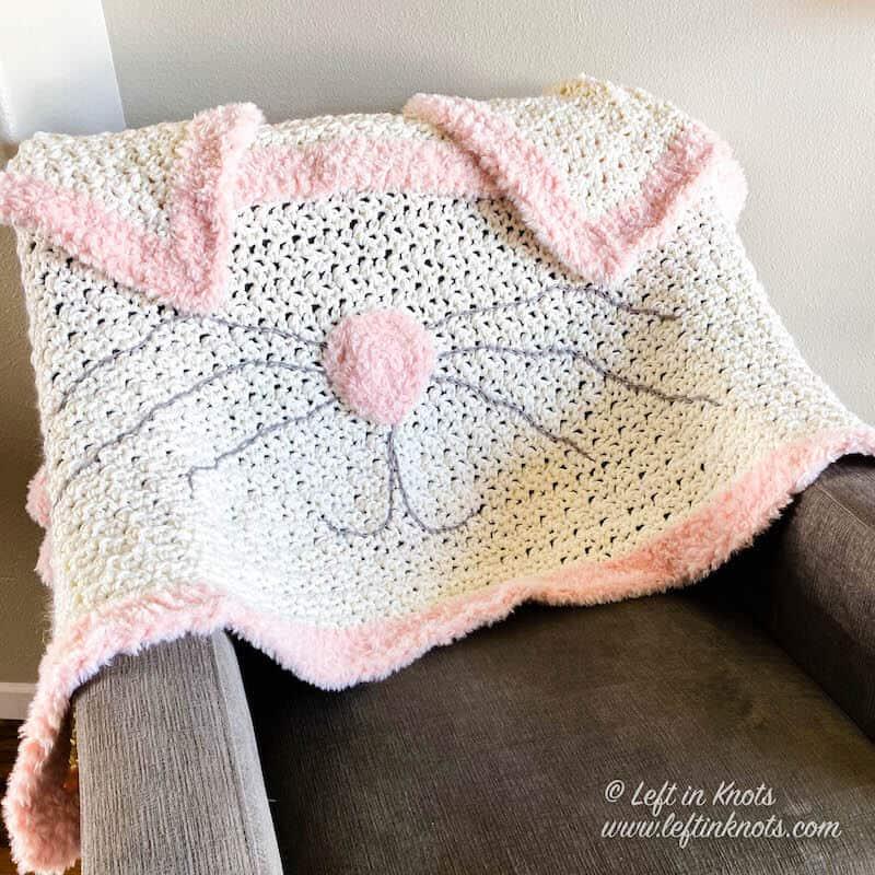 Bunny Blanket Easter Decoration